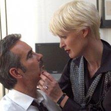 Pierre Cosso con Jane Alexander in una scena di Anna e i cinque