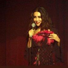 Sabrina Ferilli in una sequenza della serie Anna e i cinque