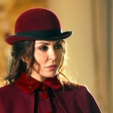 Sabrina Ferilli in versione 'castigata' in una scena della fiction Anna e i cinque