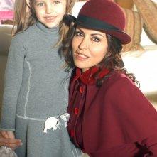 Sabrina Ferilli nei panni di Anna Modigliani in una immagine promo della fiction Anna e i cinque