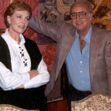 Julie Andrews e Arturo La Pegna sul set di Cin Cin