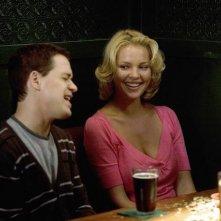 Katherine Heigl e T.R. Knight in una scena dell'episodio 'Brave New World' della serie Grey's Anatomy