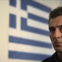 Giorgos Symeonidis in una scena del film Correction.