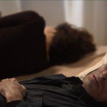 Giorgos Symeonidis in una sequenza del film Correction.
