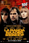 La locandina italiana del film La banda Baader Meinhof
