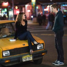 Alexis Dziena e Michael Cera in una nel film Nick and Norah's Infinite Playlist