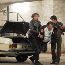 Bernd Stegemann in una scena del film La banda Baader Meinhof