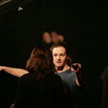 Brando De Sica sul set del film Parlami di me