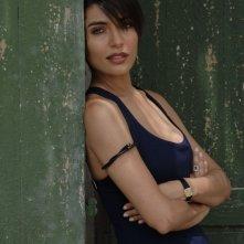 Caterina Murino sul set di The Garden of Eden