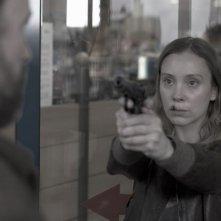 Franziska Petri in una scena del film Schattenwelt