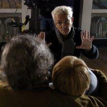 Il regista João Botelho sul set del film A corte do Norte - Northern Land