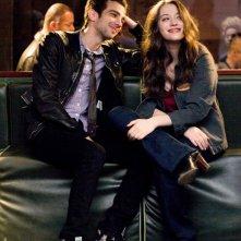 Jay Baruchel e Kat Dennings è la protagonista femminile del film Nick and Norah's Infinite Playlist