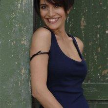 L'attrice Caterina Murino sul set del film The Garden of Eden