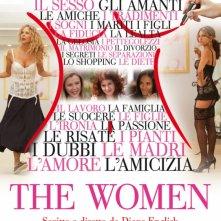 La locandina italiana di The Women