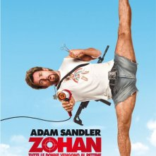 La locandina italiana di You Don't Mess With the Zohan