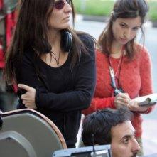 La regista Maria Sole Tognazzi sul set del film L'uomo che ama