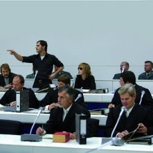 Niels Bruno Schmidt, Moritz Bleibtreu e Johanna Wokalek in un'immagine del film La banda Baader Meinhof