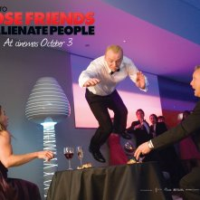 Un wallpaper del film How to Lose Friends and Alienate People con protagonista Simon Pegg