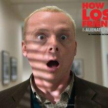 Un wallpaper del film How to Lose Friends and Alienate People con Simon Pegg