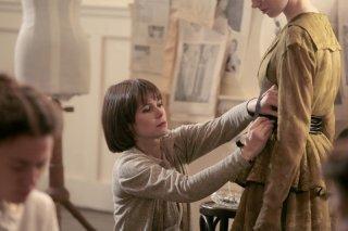 Barbora Bobulova in una scena della fiction Coco Chanel