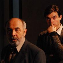 Gérard Jugnot e Paolo Briguglia in una scena del film La siciliana ribelle