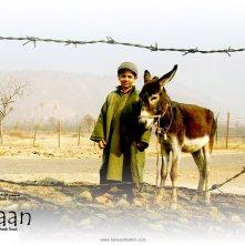 Il piccolo Purav Bhandare con il suo asinello nel wallpaper del film Tahaan - A boy with a Grenade