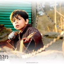 Il piccolo Purav Bhandare nel wallpaper del film Tahaan - A boy with a Grenade