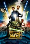 La locandina italiana di Star Wars: The Clone Wars