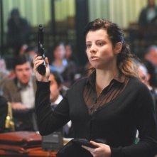 Veronica D'Agostino in una scena del film La siciliana ribelle