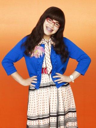 America Ferrera in una foto promozionale per la terza stagione della serie tv Ugly Betty