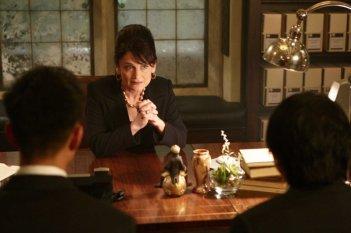 Cristine Rose a colloquio con Masi Oka e James Kyson Lee nell'episodio I Am Become Death di Heroes