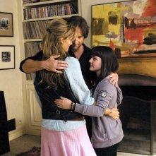 David Duchovny, Natascha McElhone e Madeleine Martin in una scena dell'episodio In Utero di Californication