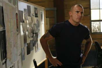 Dominic Purcell in un momento dell'episodio 'The Price' della serie tv Prison Break