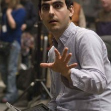 Il regista Gil Kenan sul set del film City of Ember