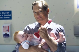 James Remar in una scena dell'episodio Finding Freebo della serie Dexter