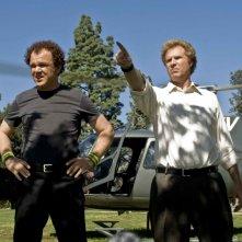 John C. Reilly e WIll Ferrell in una sequenza di Fratellastri a 40 anni