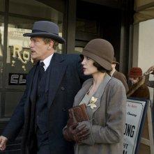 John Malkovich e Angelina Jolie in un'immagine di Changeling diretto da Clint Eastwood