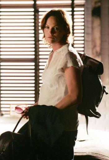 Jorja Fox in un momento dell'episodio 'The Happy Place' della serie tv CSI
