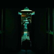 Saoirse Ronan e Harry Treadaway in una scena del film City of Ember