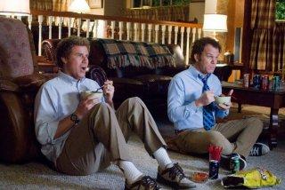 WIll Ferrell e John C. Reilly in un'immagine della commedia Fratellastri a 40 anni