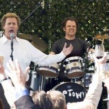 WIll Ferrell e John C. Reilly in una scena della commedia Fratellastri a 40 anni