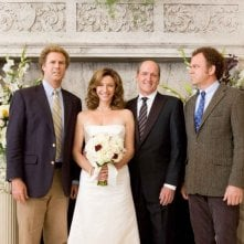 WIll Ferrell, Mary Steenburgen, Richard Jenkins e John C. Reilly in una scena del film Fratellastri a 40 anni