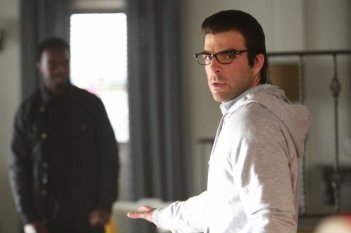 Zachary Quinto nell'episodio I Am Become Death di Heroes