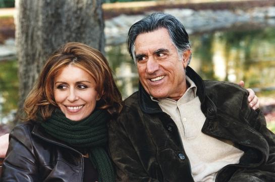 Caterina Vertova Con Lando Buzzanca In Una Sequenza Del Film Tv Mio Figlio 91877
