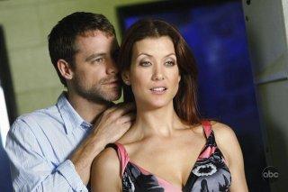 David Sutcliffe e Kate Walsh nell'episodio 'Nothing to talk about' della seconda staigone di Private Practice