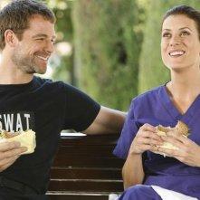 David Sutcliffe insieme a Kate Walsh in un momento dell'episodio 'Nothing to talk about' della seconda staigone di Private Practice