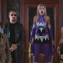 I temibili villain del film Capitan Basilico, tra cui Regina (Giorgia Wurth) e Lara Krapfen (Federica Ruggero)
