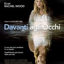 La locandina italiana di Davanti agli occhi
