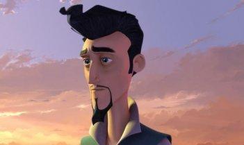 Una scena del film d'animazione Donkey Xote
