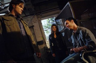 Jared Padalecki e Genevieve Cortese in una scena dell'episodio Metamorphosis di Supernatural